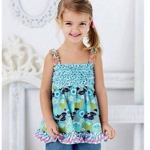 Matilda Jane happy & free funhouse smocked tunic 4